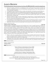 Finance Executive Resume Samples Resume Examples and Writing Letters