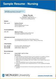 Nurse Resume Template Templates For Nursing Students Skills Based