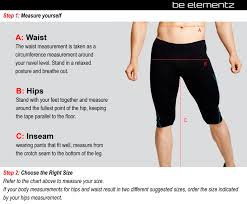 Mens Waist Measurement Chart Webshaper Size Chart