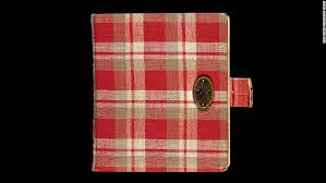anne frank s arrest might not have stemmed from betrayal cnn for her 13th birthday anne frank received a red plaid diary her first journal