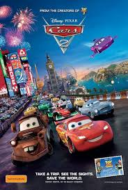 cars 2 the movie logo. Beautiful Logo That Movie Being What Is Unambiguously Considered The Worst Pixar Movie Cars  2 On 2 The Movie Logo