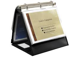 Display Binders With Stand Presentation Ring Binder Easel 1000010000100 inch Ring 4