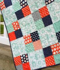 Fast Four-Patch Quilt Tutorial   Patches, Patterns and Printing & Easy, beginner four-patch quilt tutorial. Great way to use a variety of Adamdwight.com
