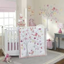 lambs ivy love 4 piece crib bedding set pink gold and teal baby sets canada