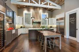 Industrial Kitchen Cabinets Industrial Kitchen Ideas With Ceramic Floor And Wooden Cabinet