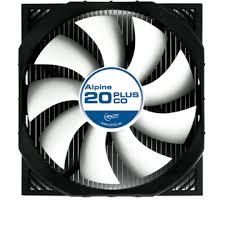 <b>Alpine</b> 20 PLUS CO | Quiet CPU <b>Cooler</b> with Enhanced Bearing, for ...