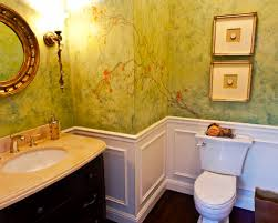 chair in bathroom. elegant powder room photo in san francisco with an undermount sink and a two-piece chair bathroom