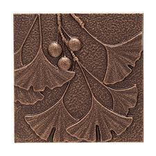 whitehall products gingko leaf wall decor antique copper on ginkgo tree metal wall art with amazon whitehall products gingko leaf wall decor antique