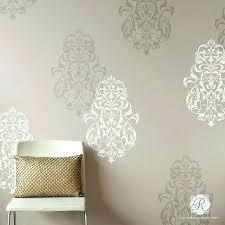 wall stencils wall 1 flower