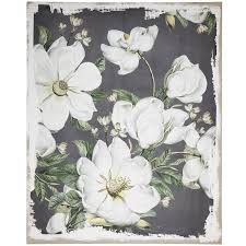 magnolia blooms canvas wall art on magnolia canvas wall art with magnolia blooms canvas wall art rc willey furniture store