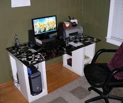 ... Large-size of Amusing Imac Computer Desk Ikea Hostgarcia Rectangle  Black Glass Imac Computerdesk With ...