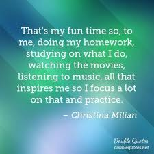 do my finance homework BestWeb     Christina Milian Quotes Collected quotes from Christina Milian That s my fun time so to me