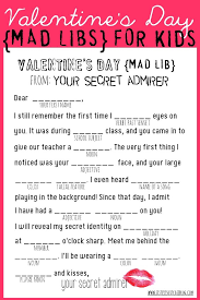 Valentine's Day Mad Libs - My Sister's Suitcase - Packed with ...