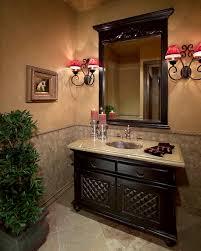 Image of: powder room design with pedestal sink