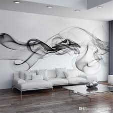 smoke fog photo wallpaper modern wall mural 3d view wallpaper designer art black white murals charming wallpaper office 2 modern