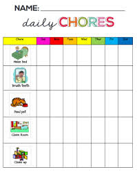 Make A Chore List Motivating Chore Charts Revival Christian Academy