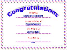 congratulations certificate templates congratulations certificate word template congratulations