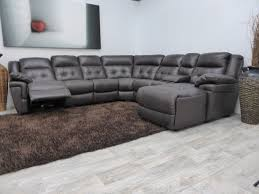 apealing winsome gray sectional sofa with recliner and stunnig design gray floor