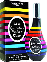 <b>Jeanne Arthes Love Generation</b> Fashion Victim 60ml Eau de Parfum ...