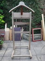 chair valet stand. the original solid oak valet stand chair i
