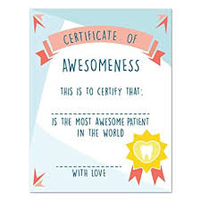 Certificate Of Awesomeness Template Amazon Com Certificate Of Awesomeness 16x20 Inch Print Best