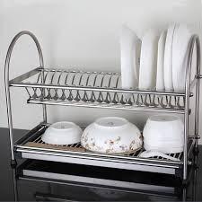 Kitchen Dish Rack Aliexpresscom Buy 304 Stainless Steel Dish Rack Dish Drainer