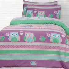 Night Owl Quilt Cover Set - Owl Bedding - Kids Bedding Dreams & Night Owl Duvet Cover Adamdwight.com