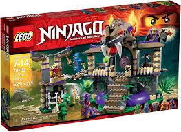 Amazon.com: LEGO 70749 Ninjago Enter The Serpent: Toys & Games