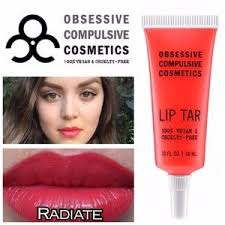 obsessive pulsive cosmetics makeup occ lip tar radiate