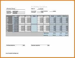 Biweekly Time Sheet Calculator Mesmerizing 48 Biweekly Timesheet Calculator Saintconnect