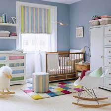 Nursery Bedroom Nursery Bedroom Sets Chair Corner Beside Striped Curtain Lighting