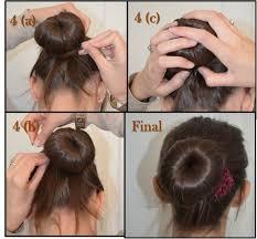 Comment Faire Un Chignon Donut Cheveux Courts