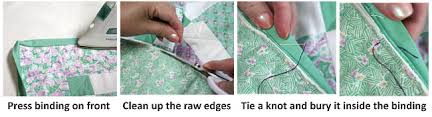 Binding Basics - Part 5: Hand-Stitching the Binding to the Back ... & What stitch do I use for hand-sewing binding? Adamdwight.com