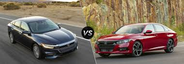 A Side By Side Comparison Of The 2019 Honda Insight 2019