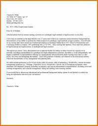 Best Legal Secretary Cover Letter Examples Livecareer