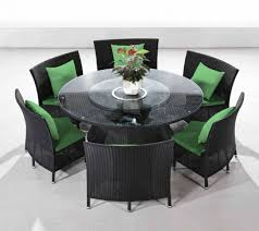 set with chairs ceetss od ds001 7 piece nightingale outdoor dining home design