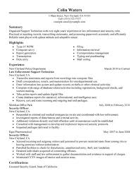 Service Center Technician Resume Sample