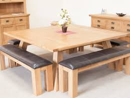 Country Oak 18m Large Square Oak Dining Room Table Kitchen Oak