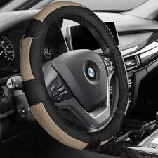 steering wheels boss kits car tuning styling mercedes faux leather steering wheel cover black