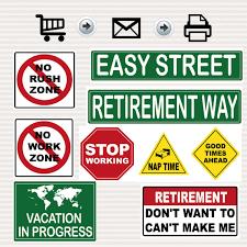 Road Sign Decorations