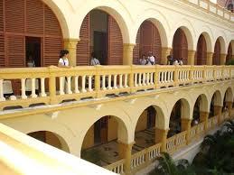 Su lema es siempre a la altura de los tiempos. Universitat Von Cartagena Mit Kreuzgang Patio Universidad De Cartagena Cartagena Reisebewertungen Tripadvisor