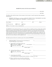 Free Printable Real Estate Sales Contract Template Real Estate Documents Template 22