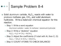 sample problem 8 4