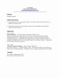 Boutique Resume Sample Best Of Resume Bio Example Resume Bio Example