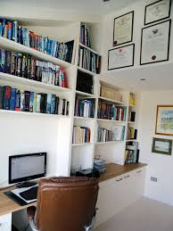 loft office furniture. white bespoke fitted home office loft furniture