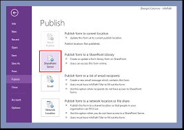 Form Library Sharepoint 2010 How To Promote Fields In Infopath 2010 2013 Formotus Support Center