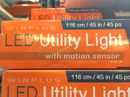 led utility light with motion sensor name winplus wont turn off