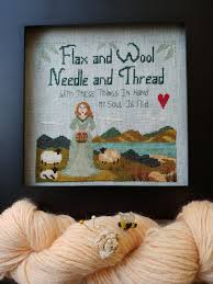 Flax And Wool Designs By The Bay Needleart October 2018