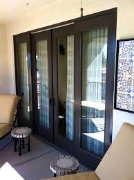image of black milgard sliding door