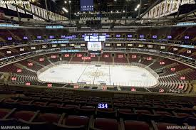 Chicago United Center Blackhawks View From Section 334